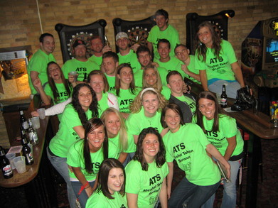 Ats Pub Crawl 2010 T-Shirt Photo