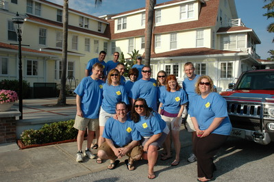 Team Schettani Boca Bike Bar Crawl 2010 T-Shirt Photo