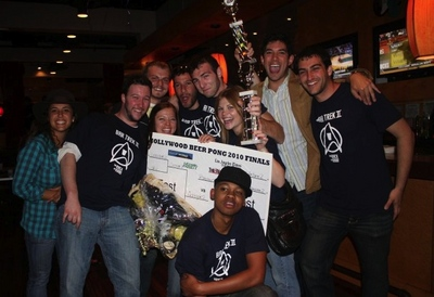 Hollywood Assistant Beer Pong Winners 2010 T-Shirt Photo