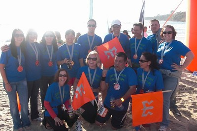 Team Shrimp Biscuit At The Ragnar! T-Shirt Photo