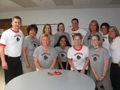 Happy School Staff T-Shirt Photo