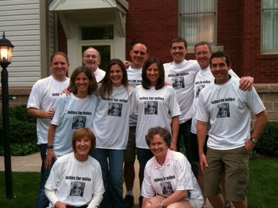 Miles For Miles Marathon Team T-Shirt Photo