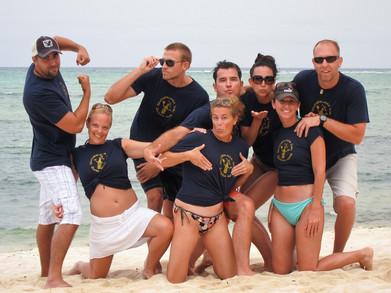 40th Birthday Party In Riviera Maya, Mexico T-Shirt Photo