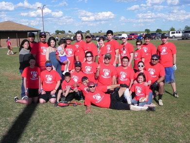 Kingfisher Softball T-Shirt Photo