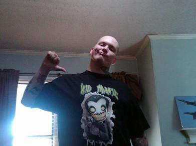 Kid Manic Front T-Shirt Photo