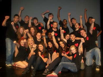 The Cast And Crew Of Heart Beats! T-Shirt Photo