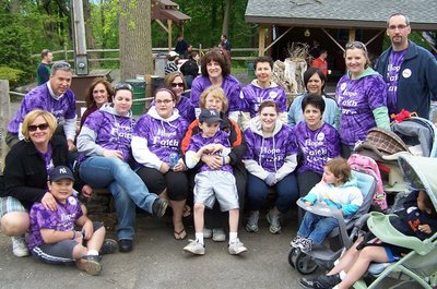 Cystic Fibrosis Great Strides Walk T-Shirt Photo