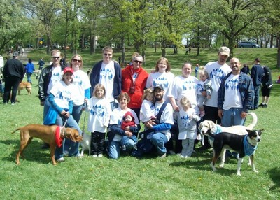 Rescue Rangers Walking Our Paws For A Cause T-Shirt Photo