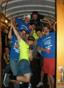 First Annual Mustache Ride   2010 T-Shirt Photo