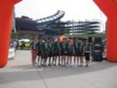 Screamin' Turtles Running Team Finishes Ragnar Ne 2010 T-Shirt Photo
