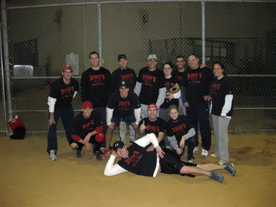 Rogos Championship Softball Team T-Shirt Photo