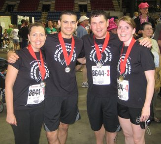 Fargo Marathon Relay Team We Rocked T-Shirt Photo