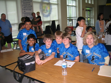 The Clever Colts At The Math Olympiad T-Shirt Photo