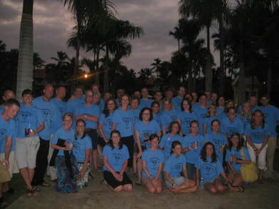 Destination Wedding In Punta Cana T-Shirt Photo
