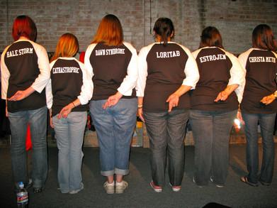 Heroine Addiction Improv Comedy Troupe T-Shirt Photo