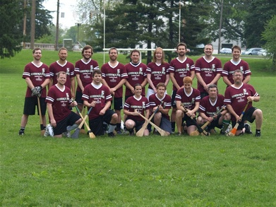 Connors Pub Hurling Team T-Shirt Photo