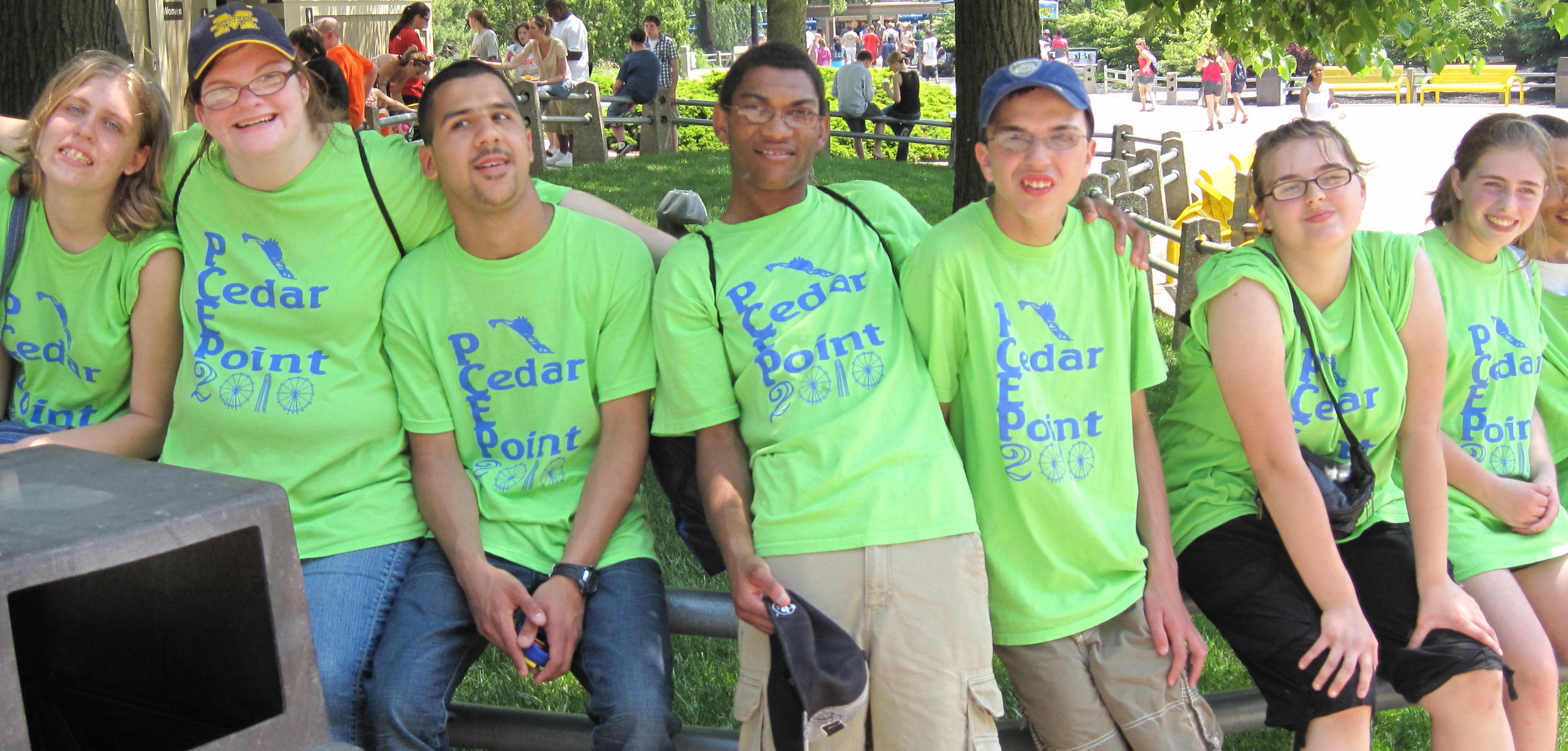 Custom T-Shirts for Pcep Cedar Point 2010