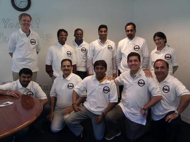 Oracle 11g Team T-Shirt Photo