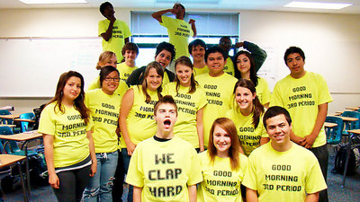 We Clap Hard T-Shirt Photo