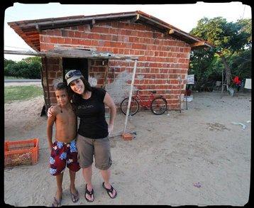 Shooting A Documentary In Presidio, Brazil T-Shirt Photo