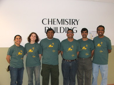 Chow Lab In Wayne State Colors T-Shirt Photo