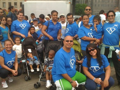 The A Team For The Autism Speaks Walk 2010 T-Shirt Photo
