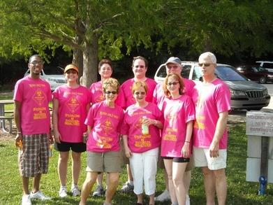 Team Haz Mat: Walking For A Cure For Crohn's Disease!!! T-Shirt Photo