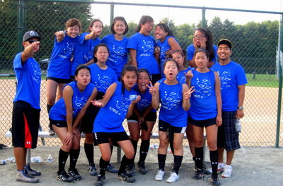 Sak Girl's Softball 2010 T-Shirt Photo