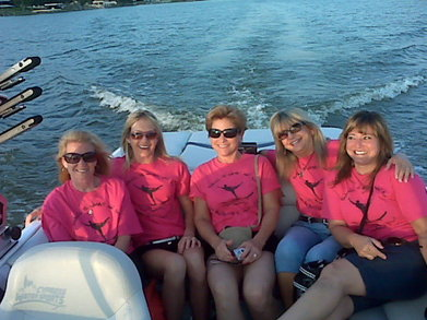 Swivel Mamas On The Lake T-Shirt Photo