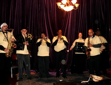 Original Hurricane Brass Band T-Shirt Photo