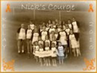 Nick's Courage Team Photo T-Shirt Photo