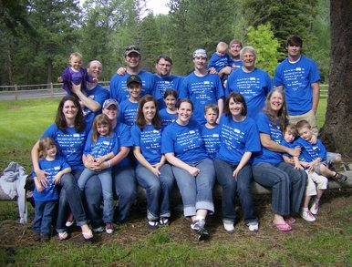 Dyer Family Reunion T-Shirt Photo