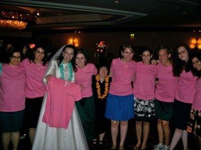 Deroy Girls Celebrates Jodi's Wedding! T-Shirt Photo