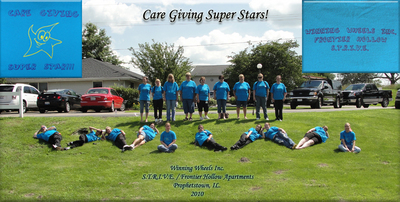 Care Giving Superstars T-Shirt Photo
