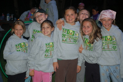 Troop First Camping Trip T-Shirt Photo