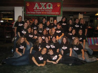 Alpha Chi Omega Spring Recruitment T-Shirt Photo