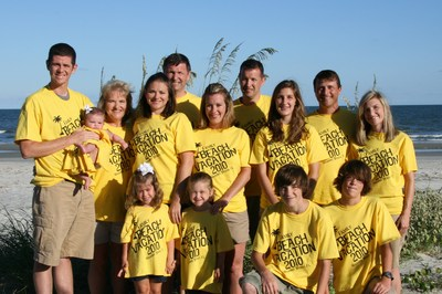 Tucker Family '10 T-Shirt Photo