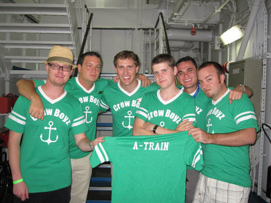 Crew Boyz On The Carnival Triumph T-Shirt Photo
