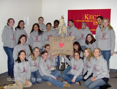 Usc Physician Assistant Students Love Custom Ink.Com T-Shirt Photo