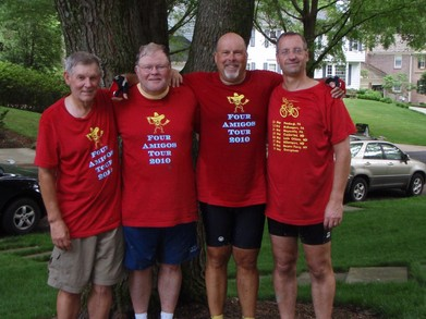 We Survived ! 337 Miles On Our Bicycles And Still Smilin' T-Shirt Photo