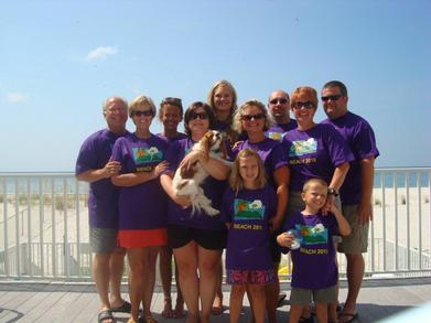 Beach 2010 T-Shirt Photo