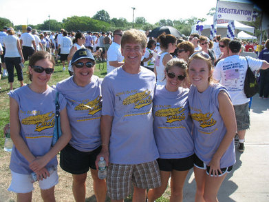 Walk For Pancreatic Cancer Research T-Shirt Photo