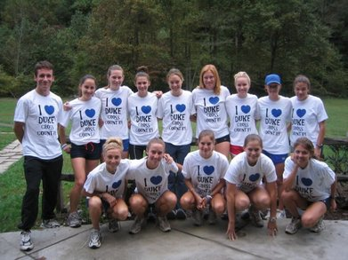 I Heart Duke Cross Country! T-Shirt Photo
