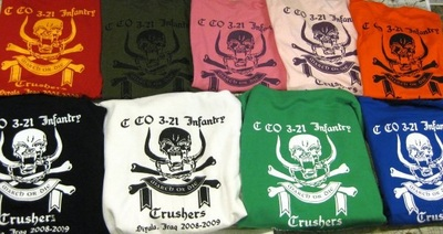Crusher Company Shirts! T-Shirt Photo