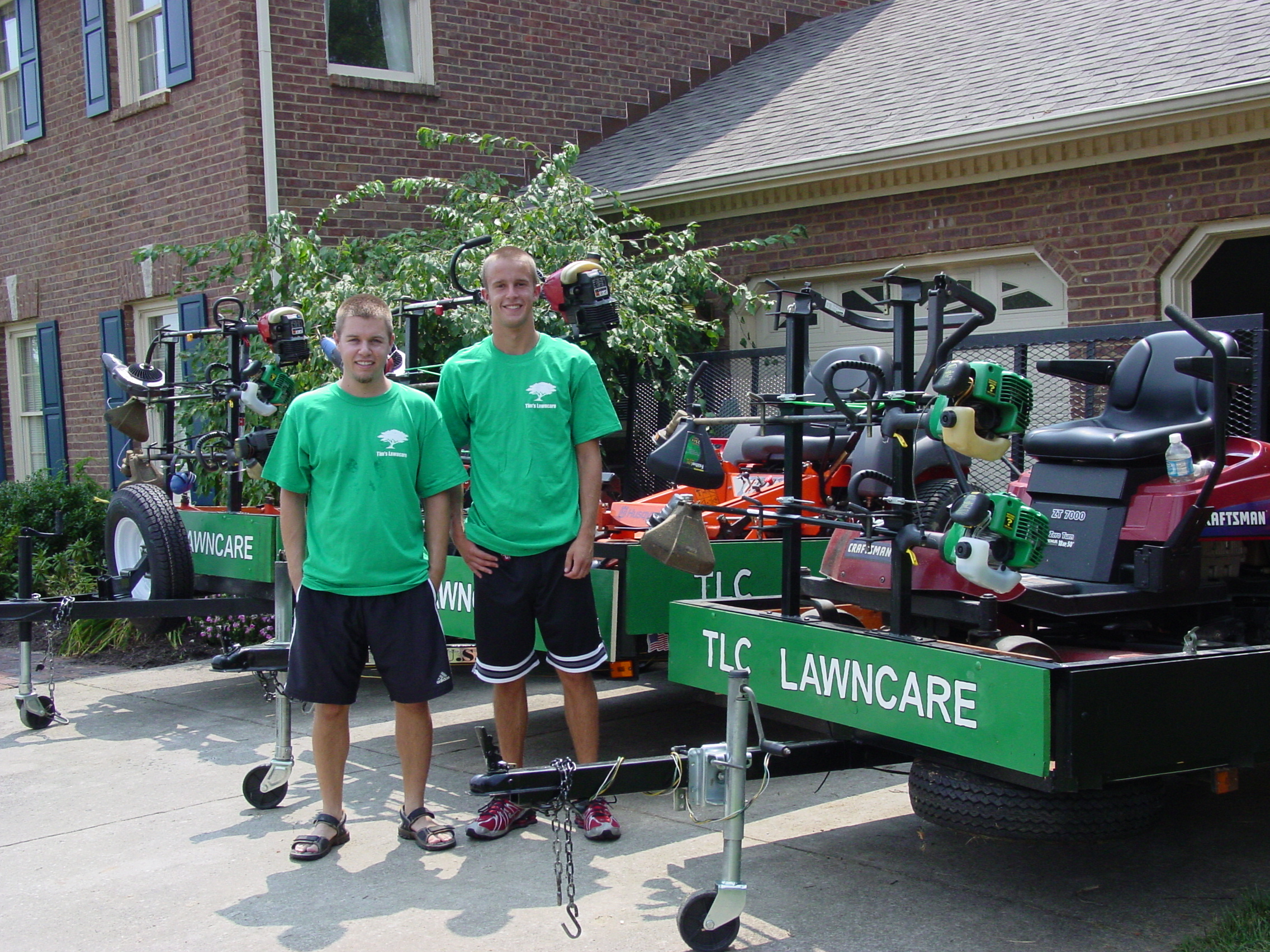 Custom T-Shirts for Tlc Lawncare In Winchester, Ky - Shirt Design ...