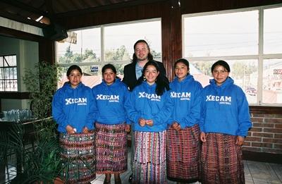 Mayan Girls Basketball Team Guatemala T-Shirt Photo