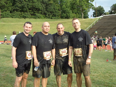 Team Papa Echo At Run Amuck 2010 T-Shirt Photo