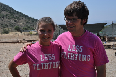 Less Flirting... More Digging! T-Shirt Photo
