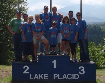 Lake Placid Medalists T-Shirt Photo