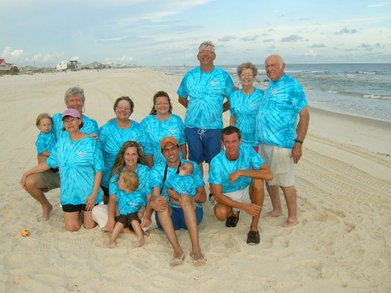 Stinson Family Beach Week 2010 T-Shirt Photo